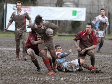 RUGBY-GRIFONI FIRST XV-BOTTOSSO+ZANET+BURATTO